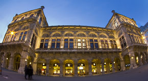 Teatro de la ópera, Viena, Austria Imagenes de archivo