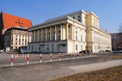 Teatro de la ópera Wroclaw, Polonia, Europa Fotos de archivo libres de regalías
