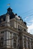 Teatro de la ópera y de ballet de Lviv Fotografía de archivo