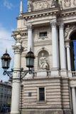 Teatro de la ópera y de ballet de Lviv Fotografía de archivo libre de regalías