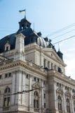 Teatro de la ópera y de ballet de Lviv Imagen de archivo