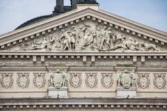 Teatro de la ópera y de ballet de Lviv Fotos de archivo