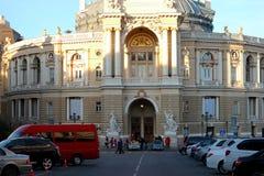 Teatro de la ópera y de ballet de Odessa imagenes de archivo