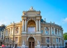 Teatro de la ópera y del ballet, Odessa Fotografía de archivo