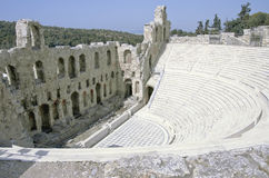 Teatro de la acrópolis Imágenes de archivo libres de regalías