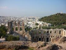 Teatro de la acrópolis Fotografía de archivo