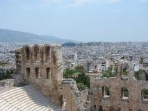 Teatro de la acrópolis Fotos de archivo