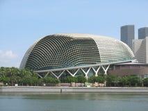 Teatro de la bahía de la explanada de Singapur Foto de archivo