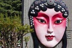 Teatro de la cara de Xi'an Fotografía de archivo
