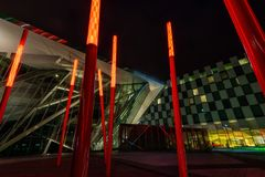 Teatro de la energía de Bord Gais, Dublin Ireland foto de archivo libre de regalías