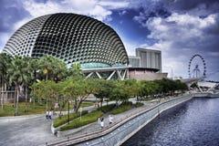 Teatro de la explanada de Singapur Fotografía de archivo libre de regalías
