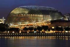 Teatro de la explanada de Singapur Foto de archivo libre de regalías