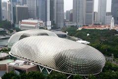 Teatro de la explanada de Singapur Imagen de archivo