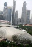 Teatro de la explanada de Singapur Fotos de archivo libres de regalías