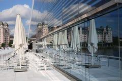 Teatro de la ópera de Oslo Imagenes de archivo