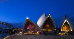 Teatro de la ópera de Sydney Foto de archivo libre de regalías