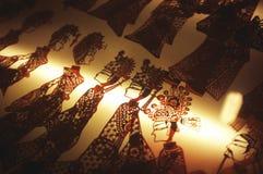 Teatro de la sombra Fotos de archivo libres de regalías
