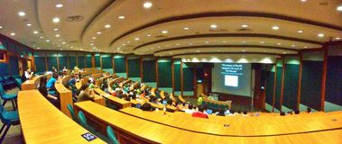 Teatro de leitura na universidade Imagem de Stock
