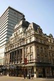 Teatro de Londres, su teatro de la majestad Imagen de archivo libre de regalías