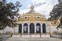 Teatro de Lope de Vega, Sevilha, Espanha foto de stock royalty free