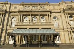 Teatro de los dos puntos, Buenos Aires, la Argentina. Foto de archivo libre de regalías