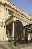 Teatro de los dos puntos, el teatro de la ópera de Buenos Aires, la Argentina Imagenes de archivo