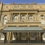 Teatro de los dos puntos, el teatro de la ópera de Buenos Aires, la Argentina Fotos de archivo libres de regalías