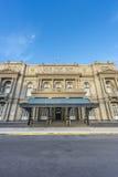 Teatro de los dos puntos en Buenos Aires, la Argentina. Foto de archivo