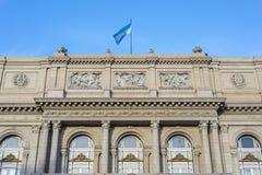 Teatro de los dos puntos en Buenos Aires, la Argentina. Foto de archivo libre de regalías