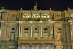 Teatro de los dos puntos en Buenos Aires, la Argentina. Fotografía de archivo libre de regalías
