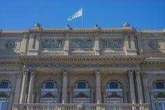 Teatro de los dos puntos en Buenos Aires, la Argentina. Imagenes de archivo