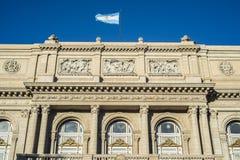Teatro de los dos puntos en Buenos Aires, la Argentina. Imágenes de archivo libres de regalías