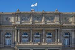 Teatro de los dos puntos en Buenos Aires, la Argentina Fotografía de archivo