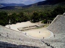 teatro de los epidavros Fotos de archivo