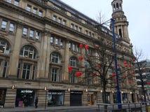 Teatro de Manchester Imágenes de archivo libres de regalías