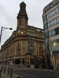 Teatro de Manchester por la mañana Fotografía de archivo libre de regalías