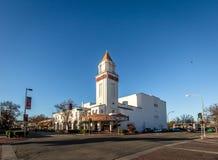 Teatro de Merced - Merced, California, los E.E.U.U. fotografía de archivo libre de regalías