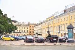 Teatro de Mikhailovsky em St Petersburg Foto de Stock