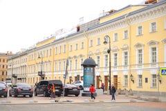 Teatro de Mikhailovsky en St Petersburg Imagenes de archivo