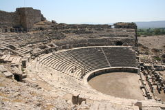 Teatro de Miletus imagen de archivo