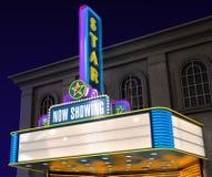 Teatro de película Fotografía de archivo libre de regalías