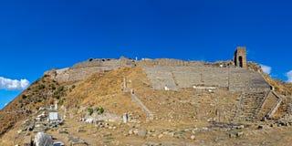 Teatro de Pergamon Imagen de archivo