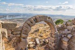 Teatro de Pergamon Imágenes de archivo libres de regalías