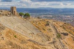 Teatro de Pergamon Foto de archivo libre de regalías