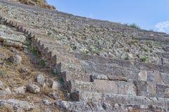 Teatro de Pergamon Fotografía de archivo