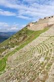 Teatro de Pergamon em Turquia fotografia de stock