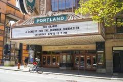 Teatro de Portland - Arlene Schnitzer Concert Hall - PORTLAND - OREGON - 16 de abril de 2017 fotografía de archivo
