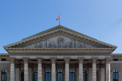 Teatro de Residenz em Munich, Alemanha, 2015 imagem de stock royalty free