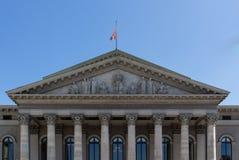 Teatro de Residenz en Munich, Alemania, 2015 Imagen de archivo libre de regalías
