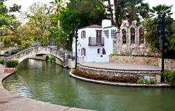 Teatro de San Antonio Riverwalk Imagens de Stock